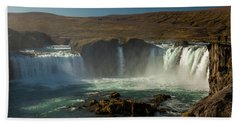 Iceland Hand Towel by Richard Engelbrecht