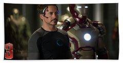 Iron Man 3 Bath Towel