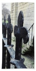 Iron Railings Detail  Hand Towel