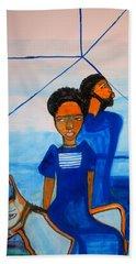 Journey To Bethlehem - Joseph And Mary Hand Towel