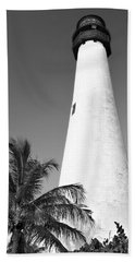 Key Biscayne Lighthouse Hand Towel
