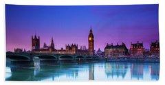 London Big Ben  Hand Towel