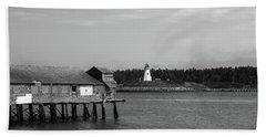Lubec, Maine Hand Towel