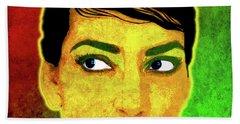 Maria Callas Hand Towel