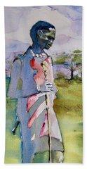 Masaai Boy Bath Towel