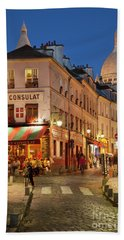 Montmartre Twilight Hand Towel