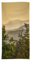 Mountains In The Distance Bath Towel