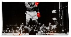 Muhammad Ali Art Bath Towel