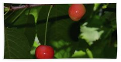 Bath Towel featuring the photograph My Cherry by Elvira Ladocki