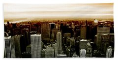 New York Hand Towel by Roger Lighterness