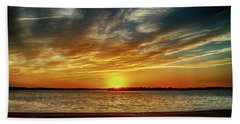 Oklahoma Sunset Bath Towel