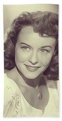 Paulette Goddard, Vintage Actress Bath Towel