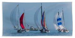 Port Huron To Mackinac Race 2015 Bath Towel