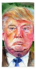 President Donald Trump Bath Towel
