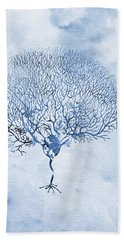 Purkinje Neuron Bath Towel