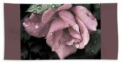 Raindrops On Roses Hand Towel