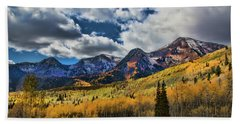 Rocky Mountain Fall Hand Towel