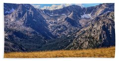 Rocky Mountain National Park Colorado Hand Towel