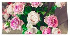 Roses Bath Towel