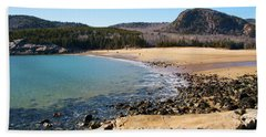 Sand Beach Acadia National Park Hand Towel
