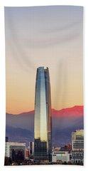 Santiago De Chile Hand Towel