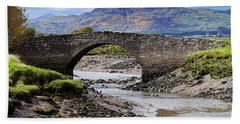 Hand Towel featuring the photograph Scottish Scenery by Jeremy Lavender Photography