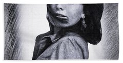 Selfportrait  Hand Towel