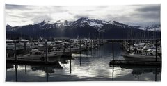 Seward Harbor Hand Towel