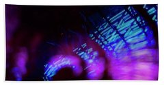 Singapore Night Urban City Light - Series - Your Singapore Bath Towel