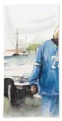 Snoop Detail Hand Towel by Jani Heinonen