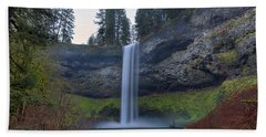 South Falls At Silver Falls State Park Hand Towel