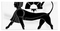 Sphinx - Mythical Creature Of Ancient Egypt Bath Towel