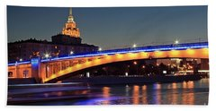 Moscow River Hand Towel