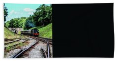 Steam Train Hand Towel