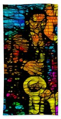 Street Jazz Bath Towel