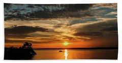 Sunset Bath Towel by Doug Long
