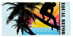 Surfboard Hand Towel