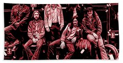 The Allman Brothers Collection Bath Towel by Marvin Blaine