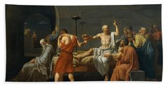 The Death Of Socrates Bath Towel