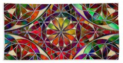 The Flower Of Life Hand Towel