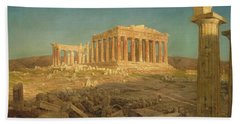 The Parthenon Bath Towel