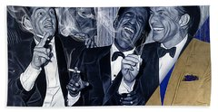 The Rat Pack Collection Hand Towel by Marvin Blaine