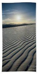 White Sands Sun Hand Towel
