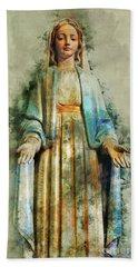 The Virgin Mary Hand Towel