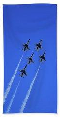 Thunderbirds Upwards Bath Towel by Raymond Salani III