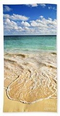 Tropical Beach  Bath Towel by Elena Elisseeva