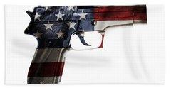 Usa Gun  Bath Towel