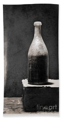 Vintage Beer Bottle Bath Towel