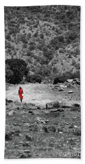 Hand Towel featuring the photograph Walk  by Charuhas Images