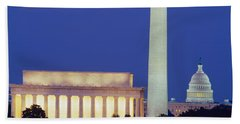 Washington Dc Hand Towel by Panoramic Images